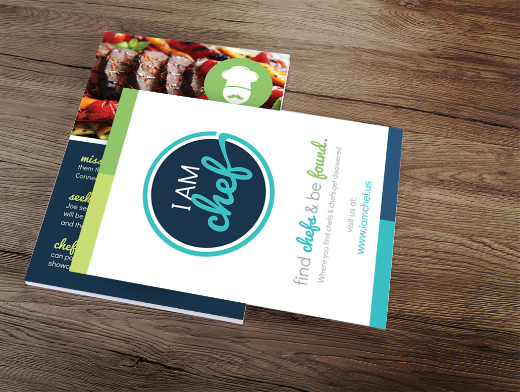 San Diego Brochure & Flyer Design - I Am Chef
