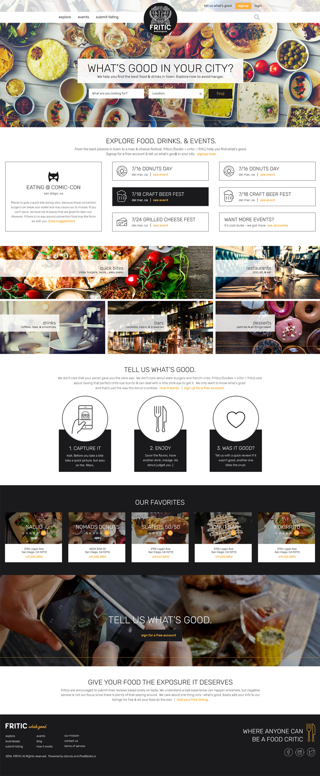 San Diego Website Design - Fritic