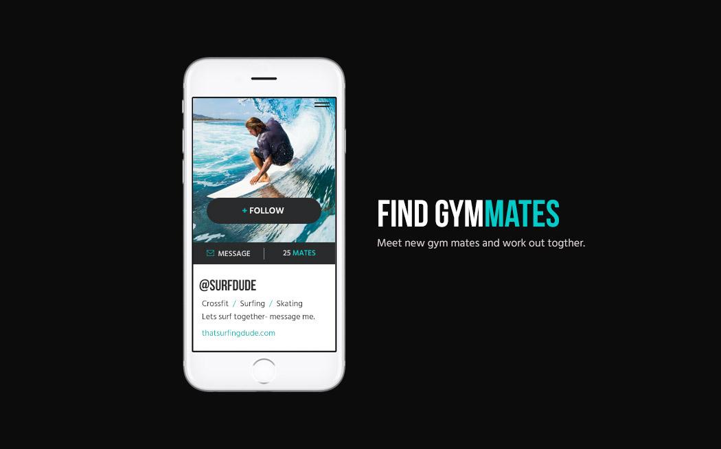 San Diego Branding Design - GymFitMate