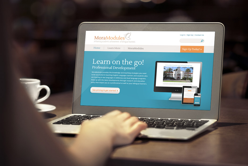 San Diego Website & Branding Design - MoraModules