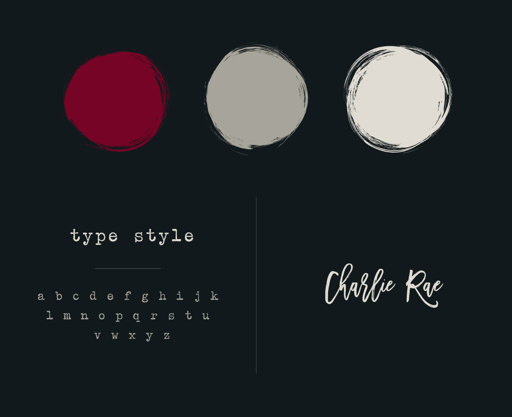 San Diego Color Palette, Typography & Branding Design - Charlie Rae