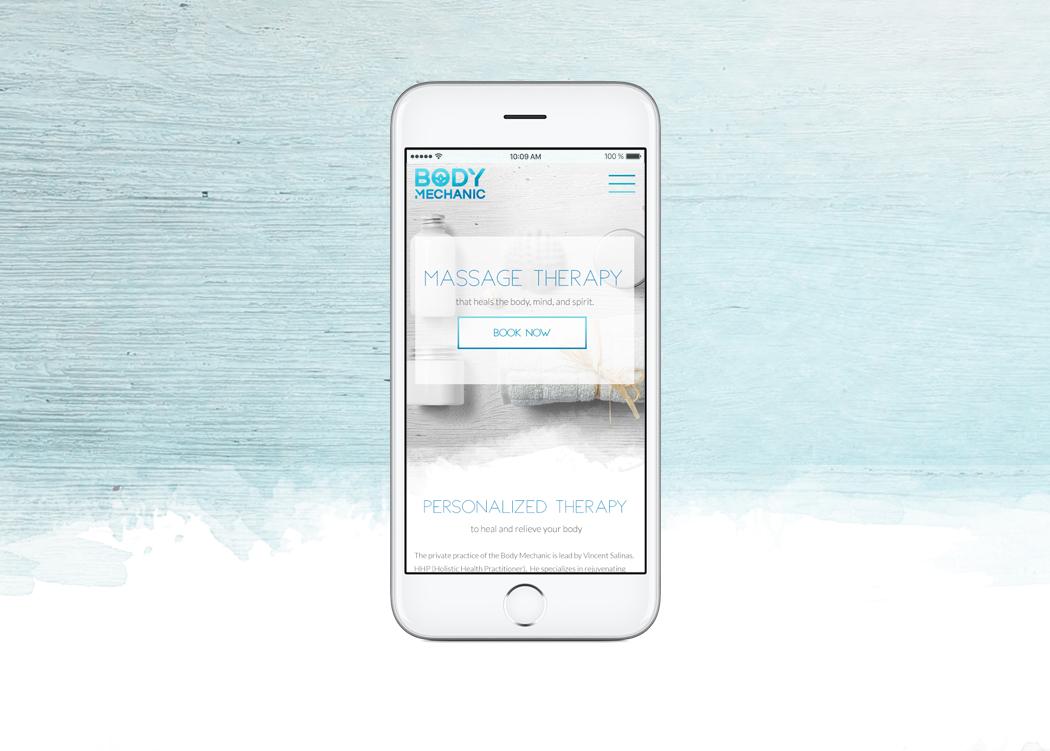 San Diego Mobile Website & Branding Design - Body Mechanic