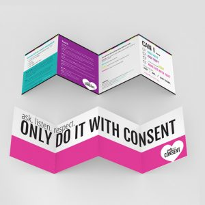 Brochure Design for Only With Consent