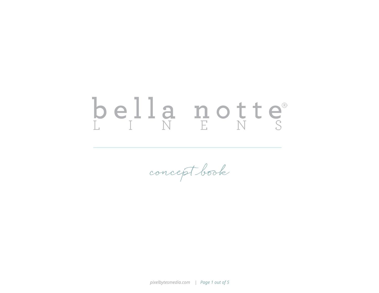 Storyboard Bella Notte 1