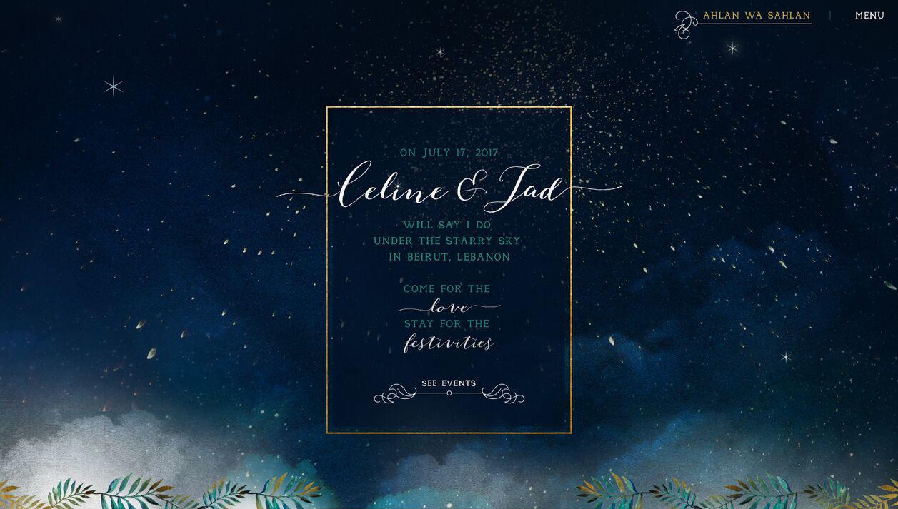 Storyboard Celine & Jad 1